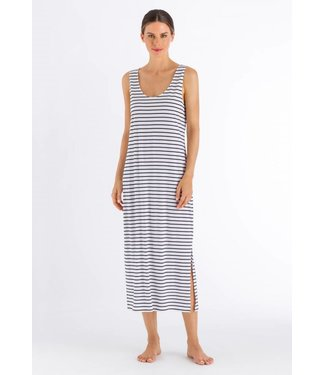 Laura Sleeveless Dress Dark Blue Stripe