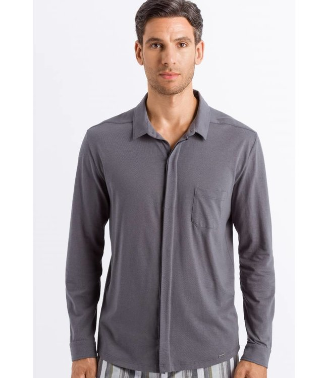 Luca Button Shirt Concrete