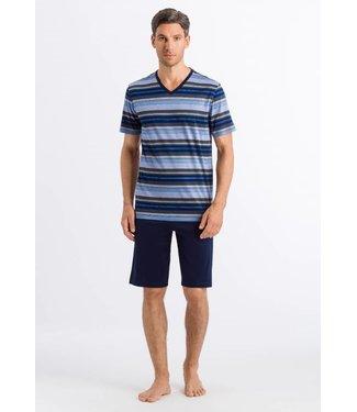 Jolan Short Sleeve Pyjama Set Horizon Stripe (SALE)