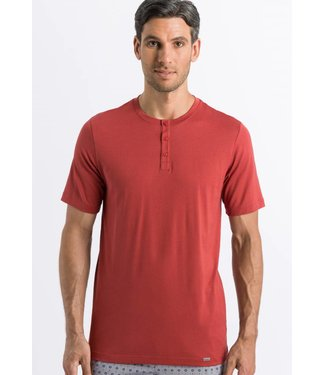 Night & Day Henley Shirt Brick