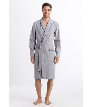 Theo Robe Grey Check