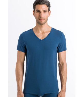 Cotton Superior Shirt V-Neck Dark Sea (NEW)