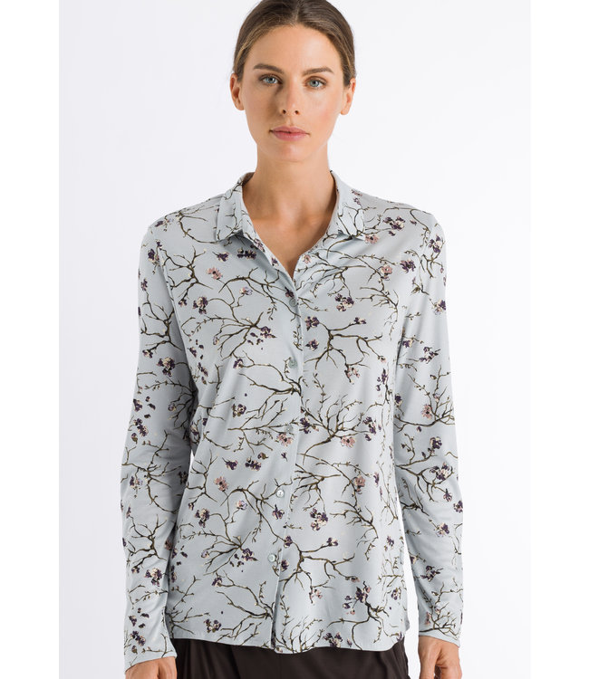 Elin Long Sleeve Shirt Delicate Branches