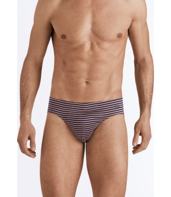 Sporty Stripe Briefs Midnight/Taupe Stripe (NEW)