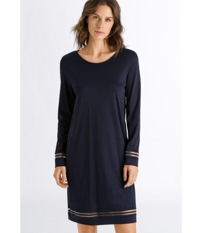 Ilona Long Sleeve Nightdress Major Blue (SALE)