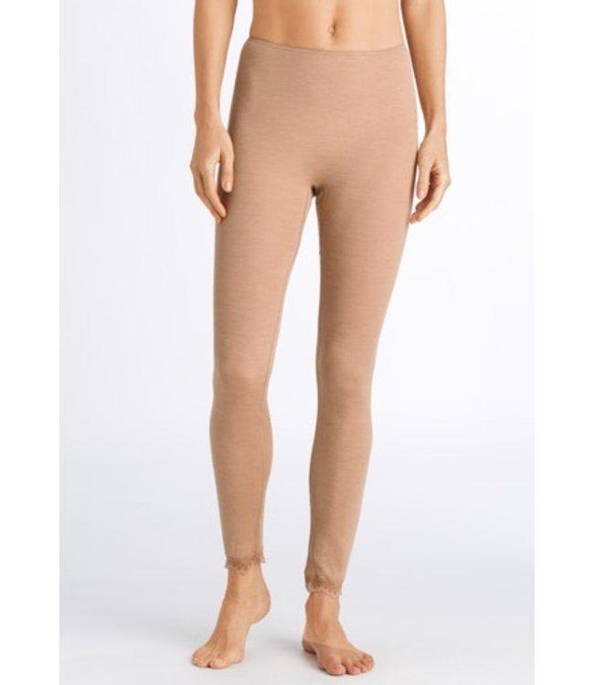 Woolen Lace Legging Caramel