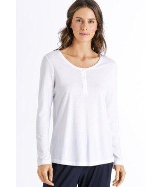 Sleep & Lounge Long Sleeve Shirt White (NEW ARRIVAL)