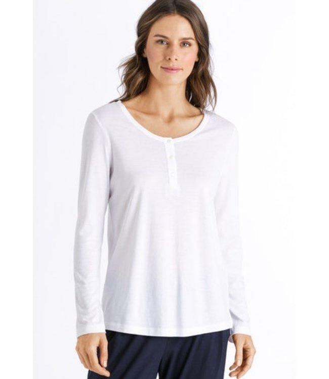 Sleep & Lounge Long Sleeve Shirt White (NEW)