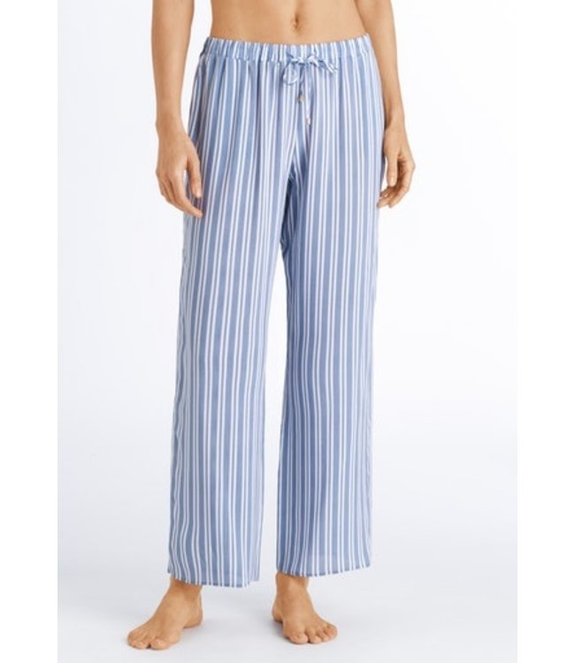 Sleep & Lounge Long Pants Soft Blue Stripe