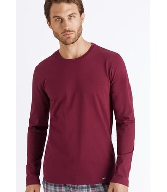 Living Shirts Long Sleeve Bordeaux