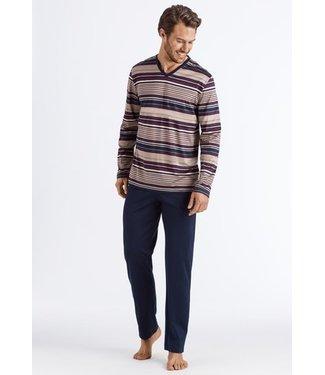 Darian Long Pajama Bordeaux Stripe (NEW)