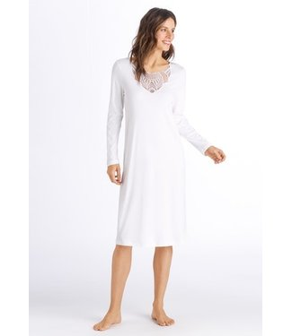 Adina Long Sleeve Nightdress Off White (SALE)