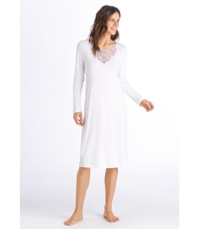 Adina Long Sleeve Nightdress Off White (SALE)