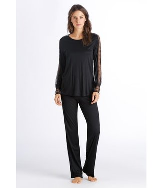 Amanda Long Sleeve Pajama Black (SALE)