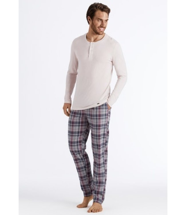 Thilo Long Pant Bordeaux  Check