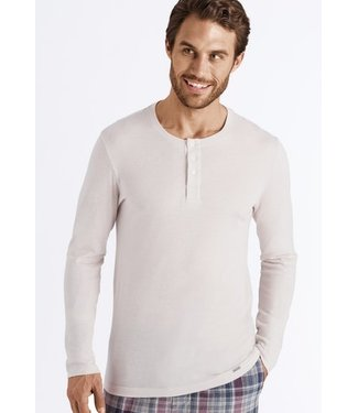 Thilo Long Sleeve Henley Ecru (NEW)