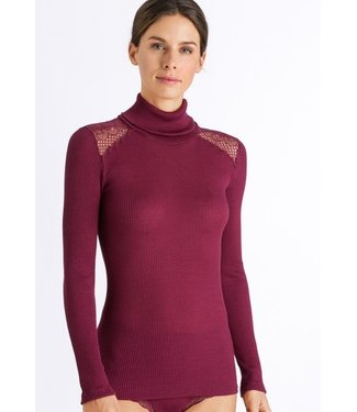 Rubina Turtle-Neck Shirt Bohemian Pink (SALE)
