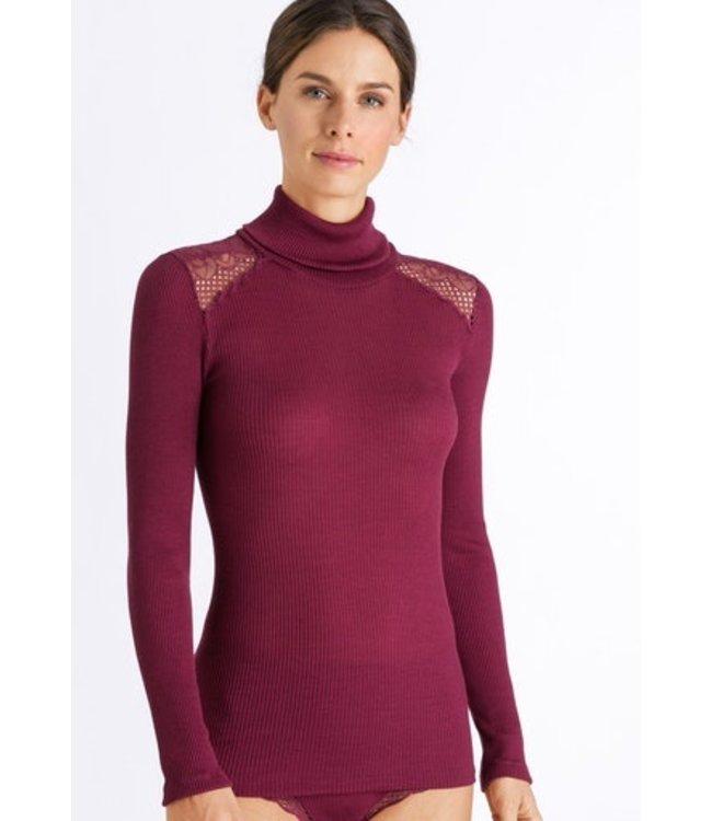 Rubina Turtle-Neck Shirt Bohemian Pink