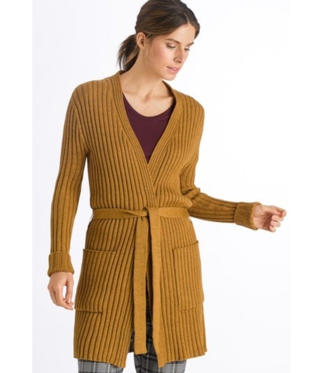 Knits Cardigan Antique Gold