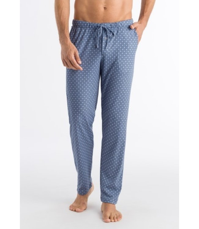 Night & Day Long Pants Blue Minimal Ornament (NEW)