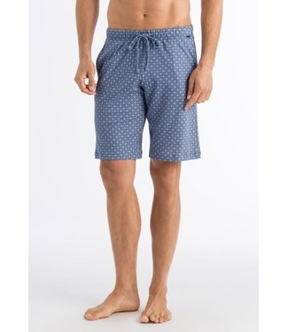 Night & Day Short Pants Blue Minimal Ornament (NEW)