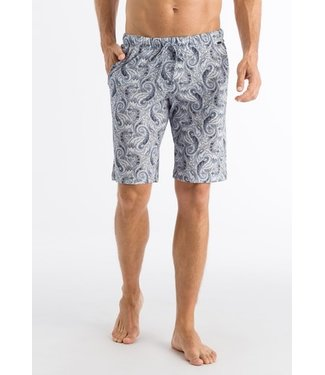 Night & Day Short Pants Aqua Paisley (NEW ARRIVALS)
