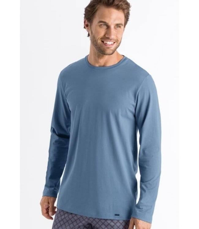 Night & Day Long Sleeve Shirt Caribbean Blue (NEW)