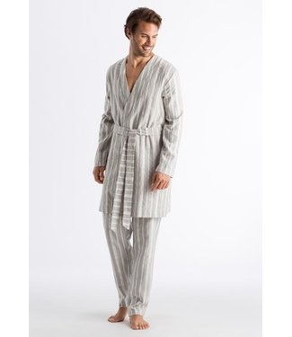 Tano Robe Grey Stripe