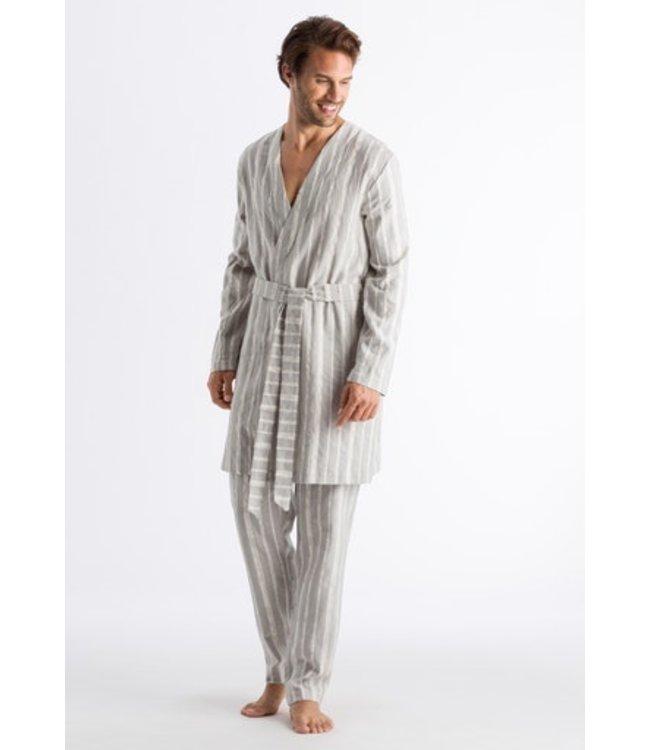 Tano Robe Grey Stripe (NEW )