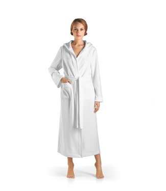 Robe Selection Hooded Robe White