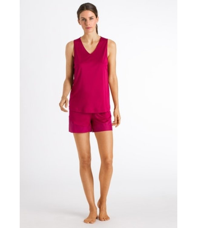 Alika Sleeveless Short Pyjama Barberry (NEW ARRIVALS)