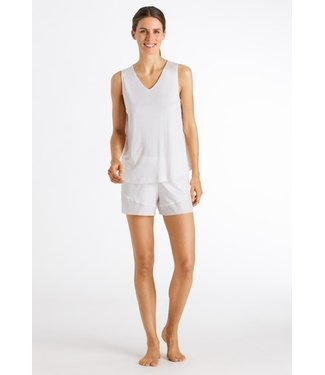 Alika Sleeveless Short Pyjama Off White