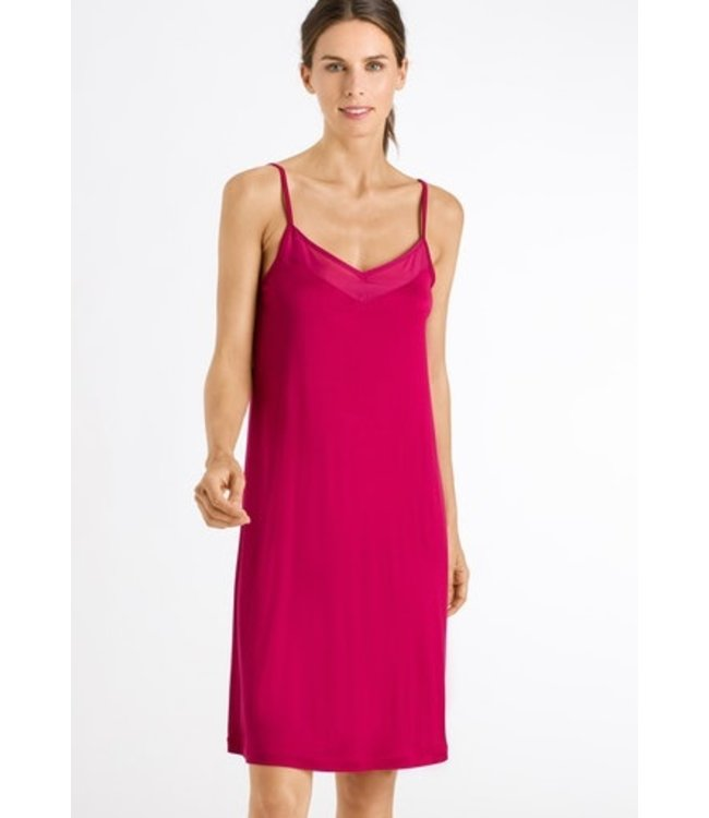 Alika Spaghetti Dress Barberry (SALE)