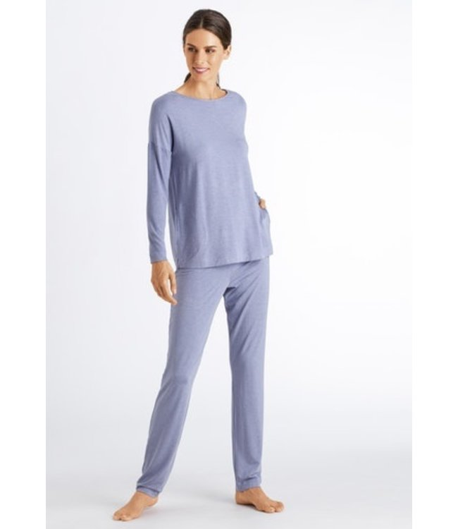 Natural Elegance Pajama Light Violet Melange (NEW ARRIVALS)