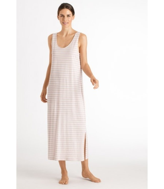 Laura Sleeveless Dress Marzipan stripe (NEW ARRIVALS)
