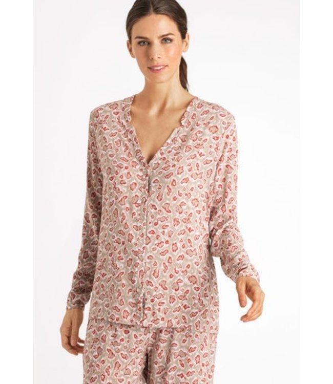 Sleep & Lounge Long Sleeve Shirt Abstract Animal