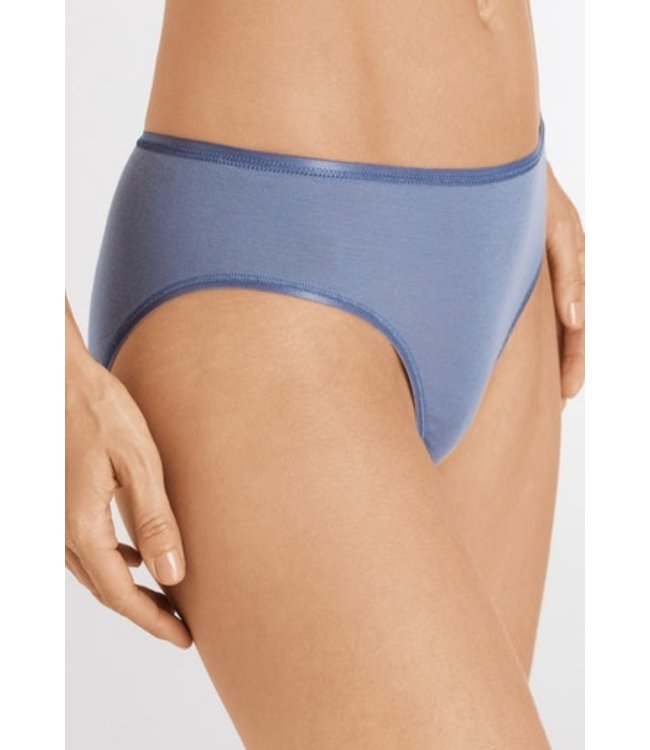 Cotton Seamless Midi Briefs Caribbean Blue (NEW)