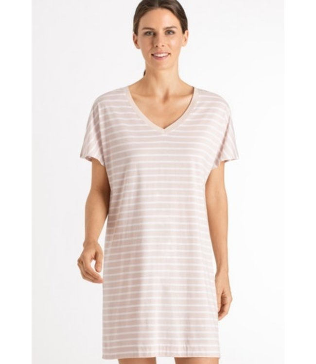 Laura Nightdress Marzipan Stripe (NEW ARRIVALS)