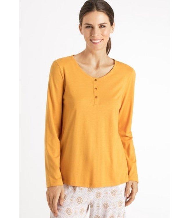 Sleep & Lounge Long Sleeve Shirt Radiant Yellow