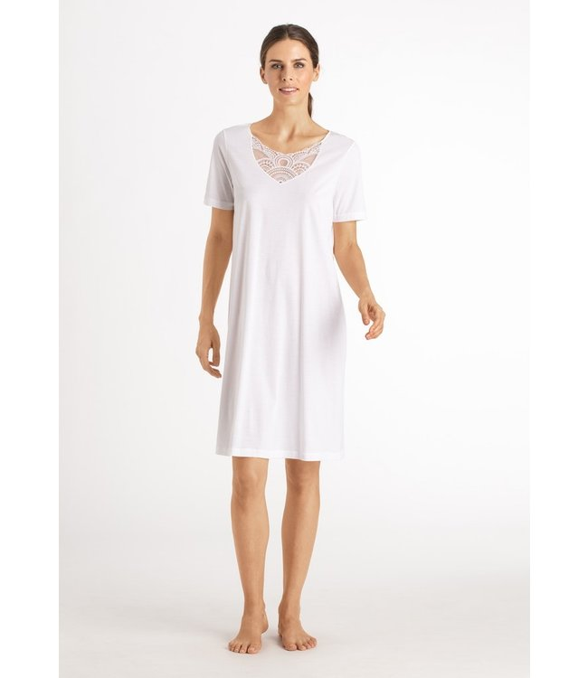 Hanro Moya Nightdress White (NEW ARRIVALS)