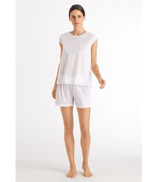 Hanro Kiah Short Pajama White (NEW ARRIVALS)