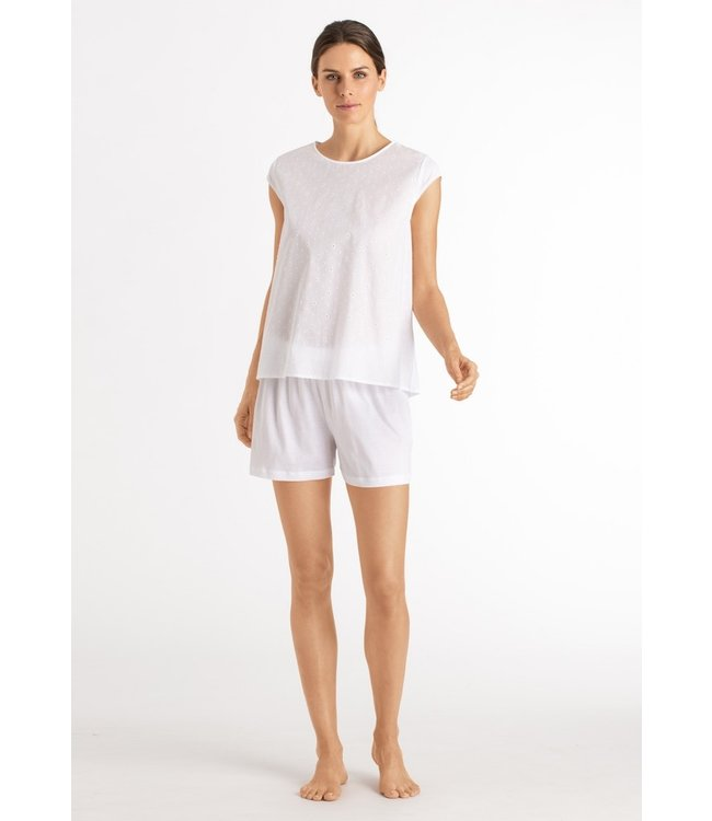 Hanro Kiah Short Pajama White (NEW ARRIVALS)
