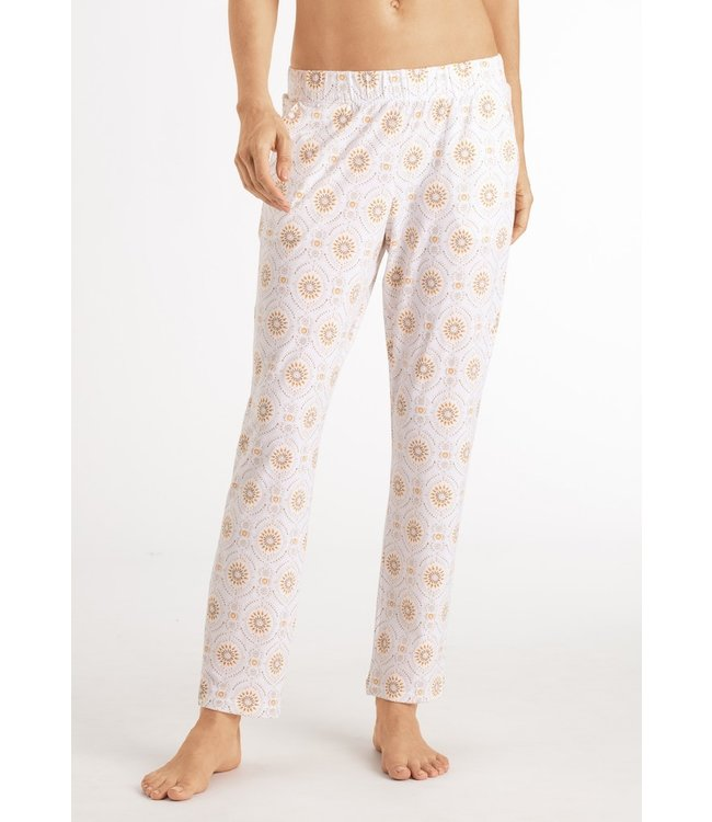 Hanro Sleep & Lounge Long Pants Safari Ornament (NEW ARRIVALS)