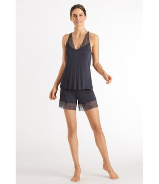 Hanro Imani Short Pajama Smoky Blue (NEW ARRIVALS)