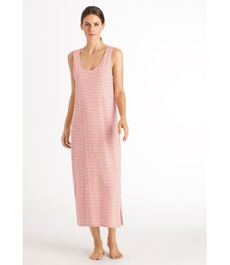Hanro Laura Sleeveless Dress Grapefruit Stripe (NEW ARRIVALS)