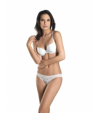 Moments Padded Bra White