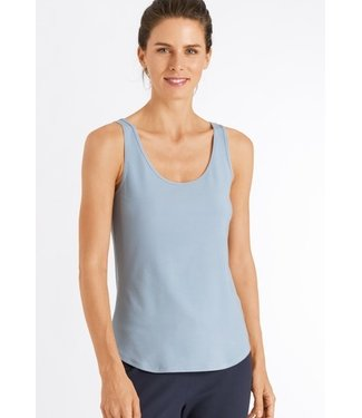 Hanro Essentials Tank Top  Aquamarine