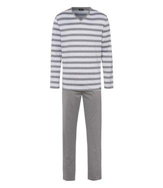 Jolan Long Sleeve Pyjama Set Light Stripe