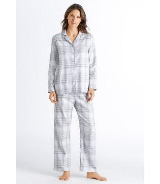 Edda Long Sleeve Pajama Grey Check
