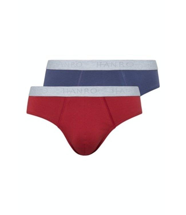 Cotton Essentials Pants 2-Pack Redwood/Sodalite Blue (NEW)